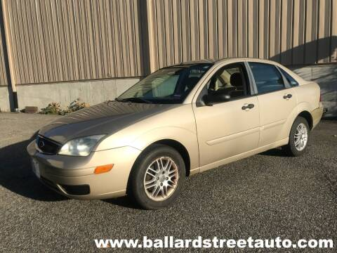 2007 Ford Focus for sale at Ballard Street Auto in Saugus MA