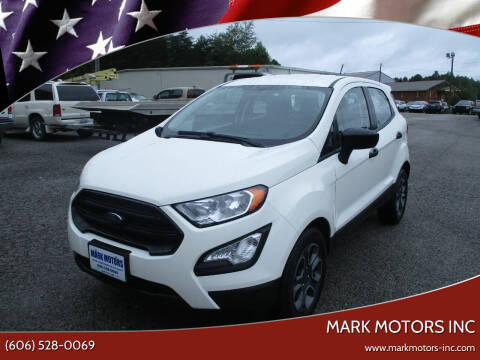 2019 Ford EcoSport for sale at Mark Motors Inc in Gray KY