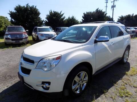 2014 Chevrolet Equinox for sale at PERUVIAN MOTORS SALES in Warrenton VA