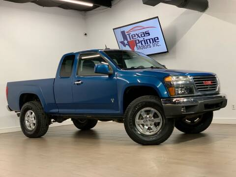 2009 GMC Canyon for sale at Texas Prime Motors in Houston TX
