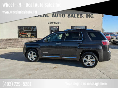 2015 GMC Terrain for sale at Wheel - N - Deal Auto Sales Inc in Fairbury NE