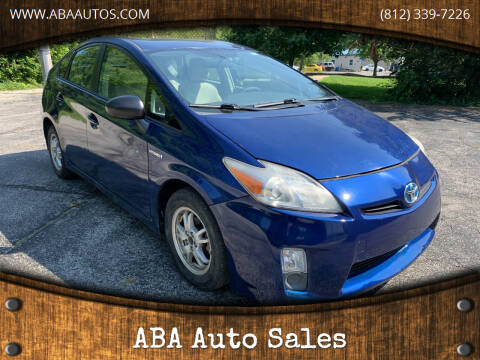 2010 Toyota Prius for sale at ABA Auto Sales in Bloomington IN