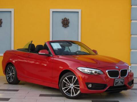 2018 BMW 2 Series for sale at Paradise Motor Sports LLC in Lexington KY
