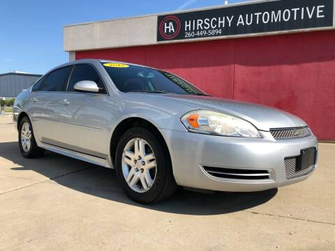 2012 Chevrolet Impala for sale at Hirschy Automotive in Fort Wayne IN