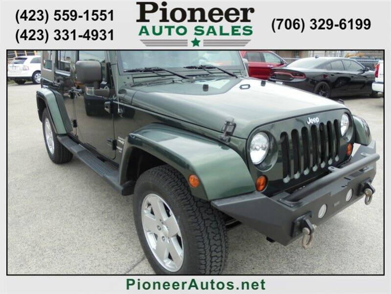 2010 Jeep Wrangler Unlimited for sale at PIONEER AUTO SALES LLC in Cleveland TN