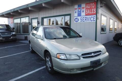 1998 Nissan Altima for sale at 777 Auto Sales and Service in Tacoma WA