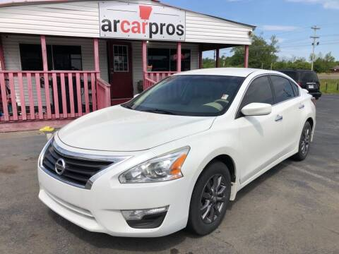 2015 Nissan Altima for sale at Arkansas Car Pros in Cabot AR