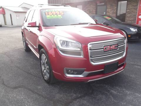 2014 GMC Acadia for sale at Dietsch Sales & Svc Inc in Edgerton OH