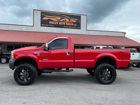 2005 Ford F-250 Super Duty for sale at Ridley Auto Sales, Inc. in White Pine TN