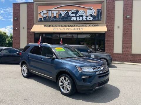 2018 Ford Explorer for sale at CITY CAR AUTO INC in Nashville TN