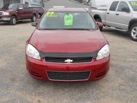 2009 Chevrolet Impala for sale at Shaw Motor Sales in Kalkaska MI