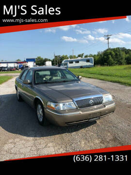 2003 Mercury Grand Marquis for sale at MJ'S Sales in Foristell MO