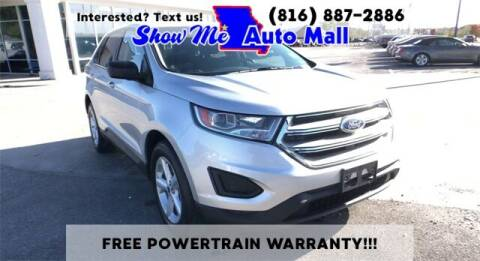 2017 Ford Edge for sale at Show Me Auto Mall in Harrisonville MO