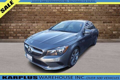 2017 Mercedes-Benz CLA for sale at Karplus Warehouse in Pacoima CA