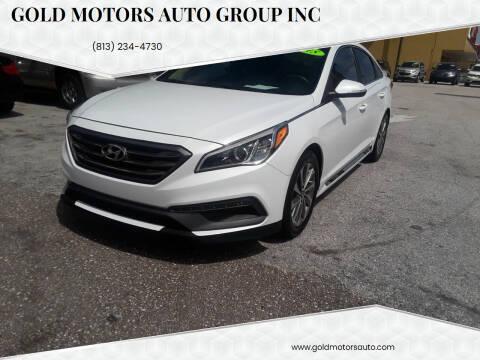 2015 Hyundai Sonata for sale at Gold Motors Auto Group Inc in Tampa FL