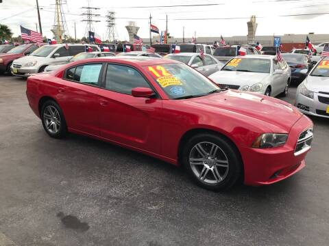 2012 Dodge Charger for sale at Texas 1 Auto Finance in Kemah TX