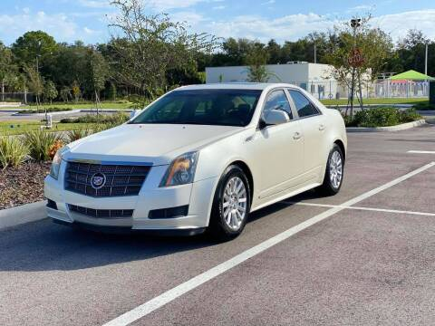 2010 Cadillac CTS for sale at GENESIS AUTO SALES in Port Charlotte FL