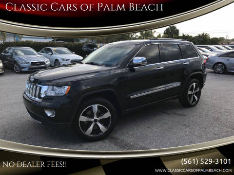 2013 Jeep Grand Cherokee for sale at Classic Cars of Palm Beach in Jupiter FL