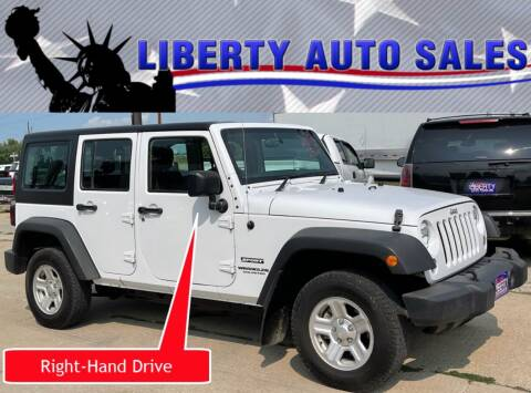 2015 Jeep Wrangler Unlimited for sale at Liberty Auto Sales in Merrill IA