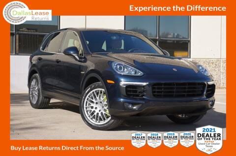2017 Porsche Cayenne for sale at Dallas Auto Finance in Dallas TX