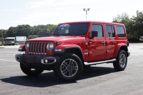 2020 Jeep Wrangler Unlimited for sale at Auto Guia in Chamblee GA
