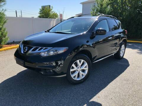 2012 Nissan Murano for sale at Giordano Auto Sales in Hasbrouck Heights NJ