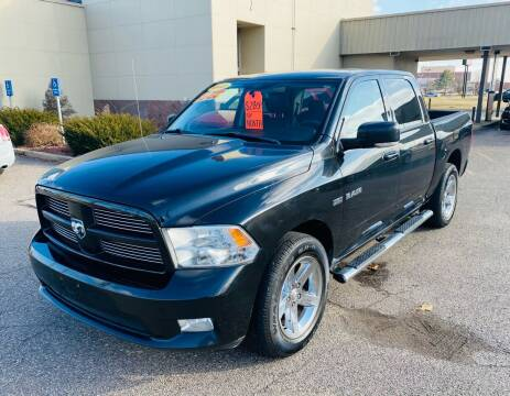 2010 Dodge Ram Pickup 1500 for sale at Big Three Auto Sales Inc. in Detroit MI