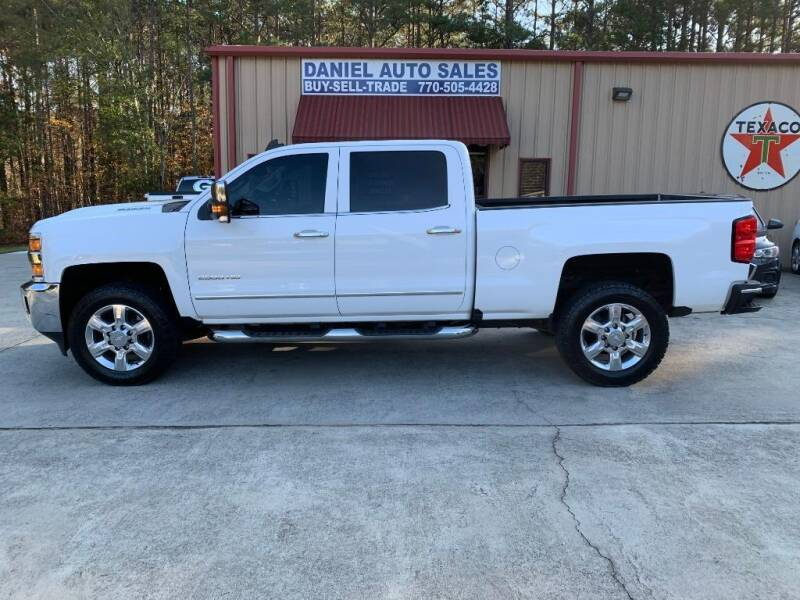 2017 Chevrolet Silverado 2500HD for sale at Daniel Used Auto Sales in Dallas GA