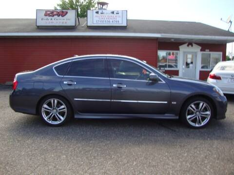 2008 Infiniti M35 for sale at G and G AUTO SALES in Merrill WI