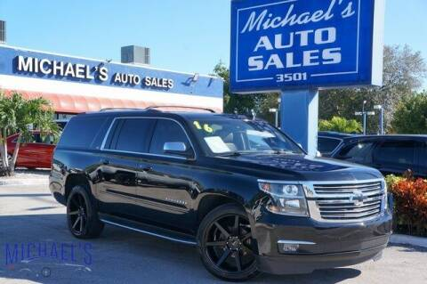 2016 Chevrolet Suburban for sale at Michael's Auto Sales Corp in Hollywood FL