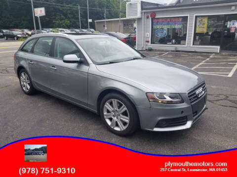 2011 Audi A4 for sale at Plymouthe Motors in Leominster MA