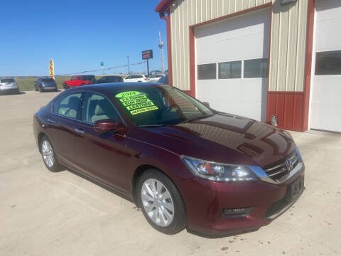 2014 Honda Accord for sale at SCOTT LEMAN AUTOS in Goodfield IL