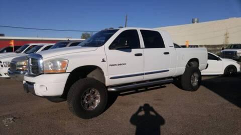2006 Dodge Ram Pickup 2500 for sale at Advantage Motorsports Plus in Phoenix AZ