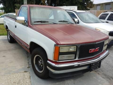 1990 GMC Sierra 1500 for sale at Autos by Tom in Largo FL