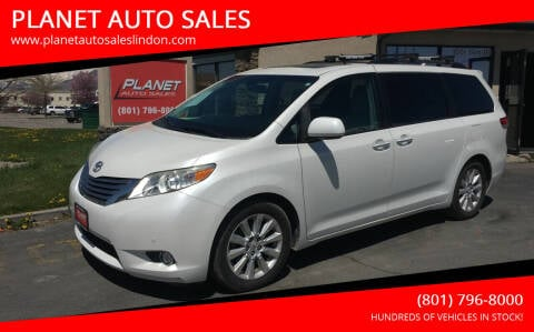 2011 Toyota Sienna for sale at PLANET AUTO SALES in Lindon UT