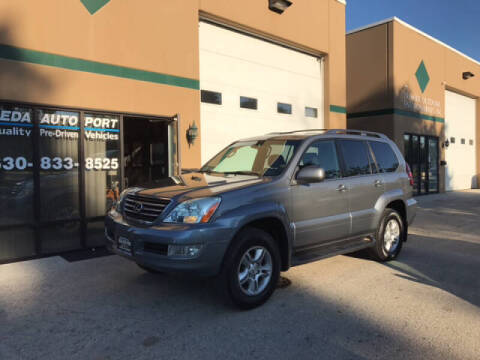 2004 Lexus GX 470 for sale at REDA AUTO PORT INC in Villa Park IL