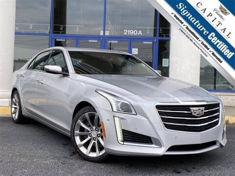 2016 Cadillac CTS for sale at Capital Cadillac of Atlanta in Smyrna GA