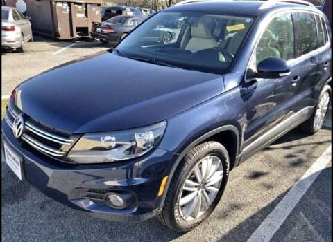 2012 Volkswagen Tiguan for sale at Innovative Auto Group in Little Ferry NJ
