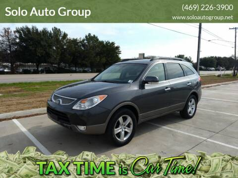 2011 Hyundai Veracruz for sale at Solo Auto Group in Mckinney TX