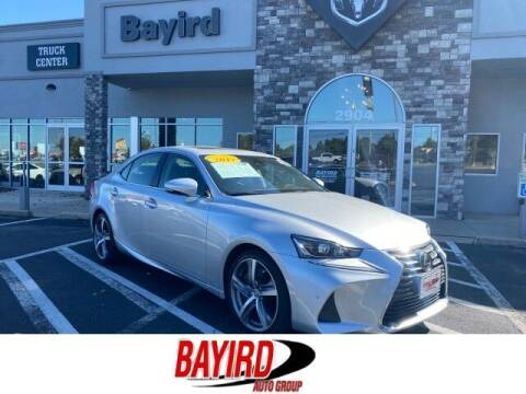 2017 Lexus IS 200t for sale at Bayird Truck Center in Paragould AR
