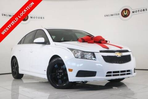 2012 Chevrolet Cruze for sale at INDY'S UNLIMITED MOTORS - UNLIMITED MOTORS in Westfield IN