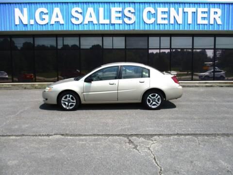 2004 Saturn Ion for sale at NORTH GEORGIA Sales Center in La Fayette GA
