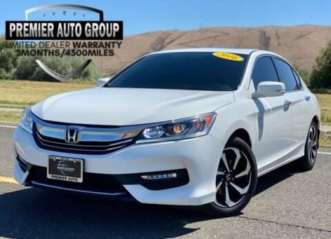 2016 Honda Accord for sale at Premier Auto Group in Union Gap WA