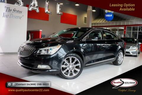 2014 Buick LaCrosse for sale at Quality Auto Center in Springfield NJ