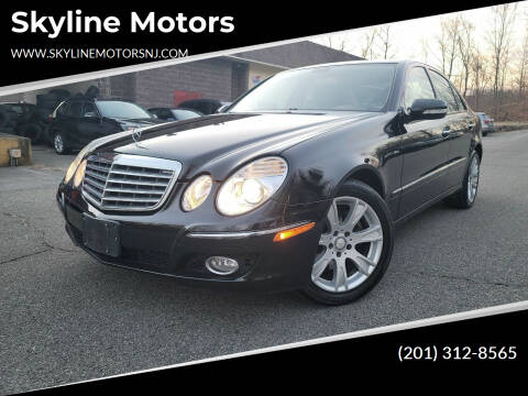 2009 Mercedes-Benz E-Class for sale at Skyline Motors in Ringwood NJ