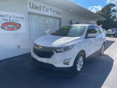 2018 Chevrolet Equinox for sale at Used Car Factory Sales & Service in Port Charlotte FL