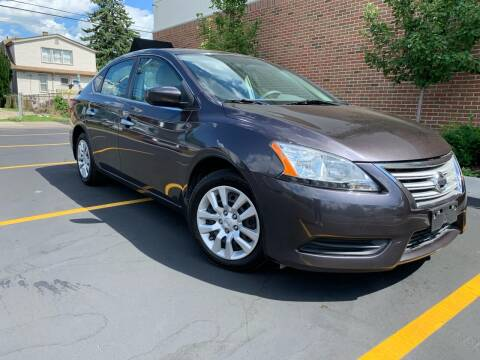 2013 Nissan Sentra for sale at Dymix Used Autos & Luxury Cars Inc in Detroit MI