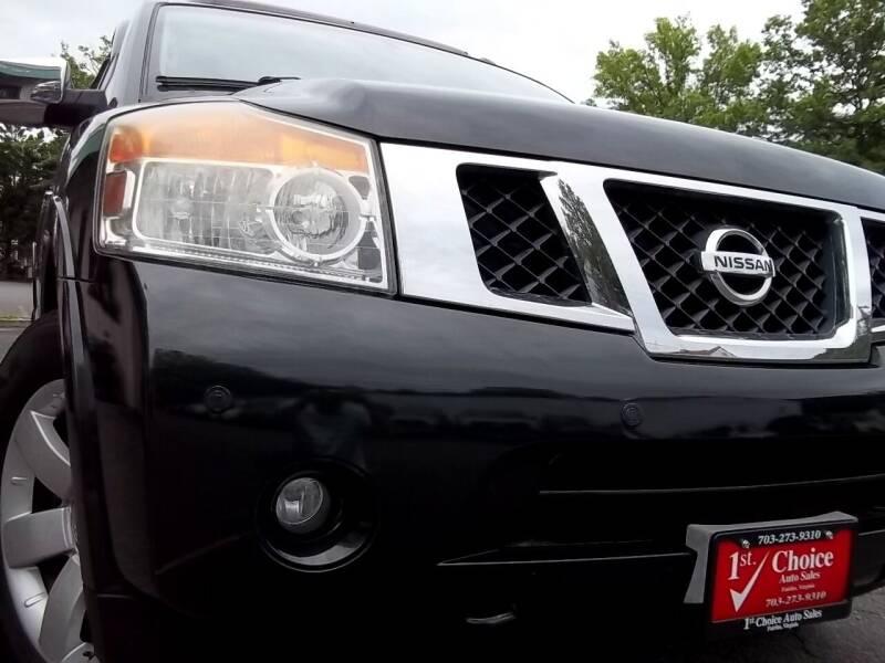 2008 Nissan Armada for sale at 1st Choice Auto Sales in Fairfax VA