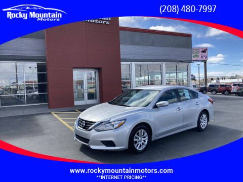 2018 Nissan Altima for sale at Rocky Mountain Motors in Idaho Falls ID