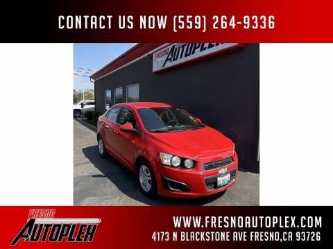 2013 Chevrolet Sonic for sale at Carros Usados Fresno in Clovis CA